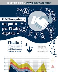 Pubblico e privato: un patto per l'Italia digitale
