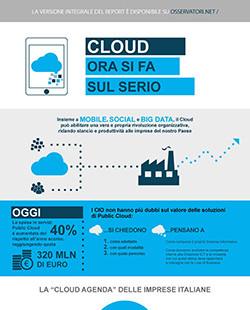Servizi cloud in Italia: ora si fa sul serio.