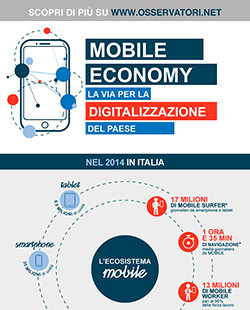 Mobile Economy: la via per la digitalizzazione del Paese
