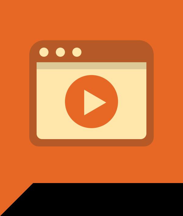 Video e Atto Webinar Icon